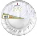 "81555 Plate - Plastic Clear 9"" 40ct"