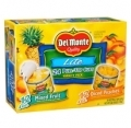 70318 Del Monte Lite Fruit Cups Variety 4oz/24ct