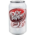 50009 Diet Dr Pepper 12oz. 24ct.