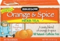 30205 Bigelow Orange & Spice Herbal Tea 28ct.