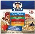 70601 Quaker Assorted Oatmeal 55ct