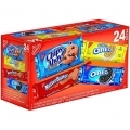 70340 Nabisco Cookies Variety Pack 24 ct